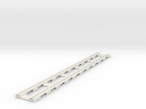 p14tr-straight-168-long in White Natural Versatile Plastic