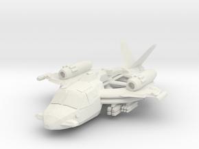 """15mm Ka-82 """"Villain"""" in White Natural Versatile Plastic"""