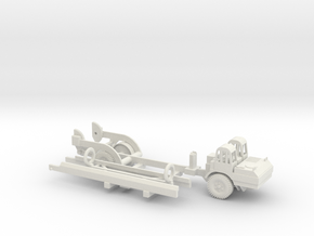 1/100 Scale MGM-5 Corporal Missile and Transporter in White Natural Versatile Plastic