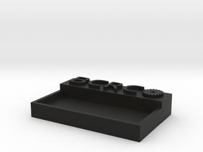 BCRC PLATE HOLDER in Black Natural Versatile Plastic