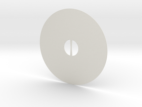Viking Shield Mk. 1  in White Natural Versatile Plastic