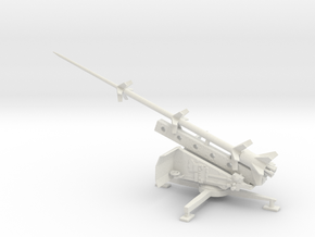 1/48 Scale German Missile Launcher RT-BI RHEINBOTE in White Natural Versatile Plastic