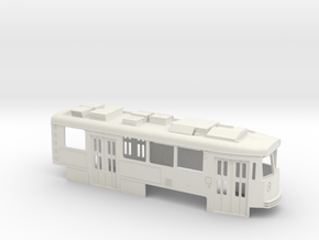 Boston Kinki O scale part B in White Natural Versatile Plastic