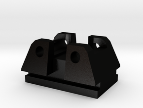 Fiber Optic PPQ Tactical rear sight in Matte Black Steel