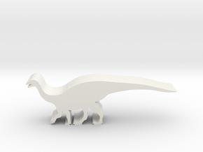 Dinosaur Island Meeples - Mussaurus 1 in White Natural Versatile Plastic