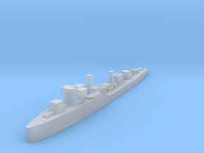 Soviet Molniya guard ship 1:2400 WW2 in Smoothest Fine Detail Plastic