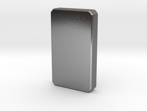 The Silver Bar II in Polished Silver