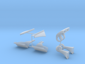 312t3 Parts in Smooth Fine Detail Plastic
