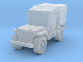Jeep Willys closed 1/200 in Smooth Fine Detail Plastic