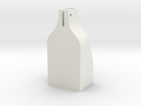 CableHousingBody in White Natural Versatile Plastic