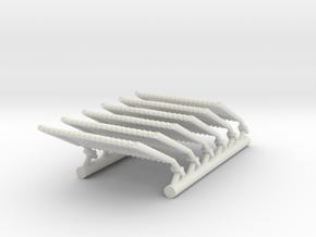 1/72 Netting Extended in White Natural Versatile Plastic