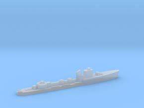 Italian Aretusa torpedo boat 1:1800 WW2 in Smoothest Fine Detail Plastic