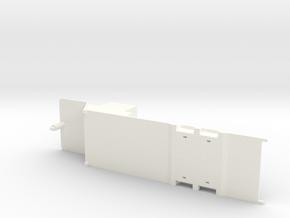 CAR HAULER CHASSIS in White Processed Versatile Plastic