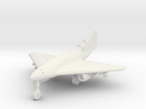 (1:200) Messerschmitt Me 262 Tailless Delta in White Natural Versatile Plastic