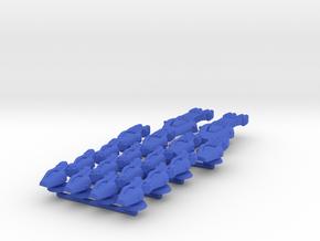 Lambda Battle Group 2 in Blue Processed Versatile Plastic