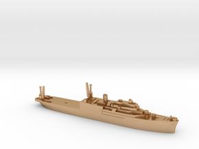 USS Currituck seaplane tender 1:1800 WW2 in Natural Bronze