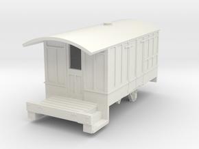0-87-cavan-leitrim-4w-passenger-brakevan-body in White Natural Versatile Plastic
