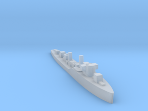 Soviet Purga guard ship 1:2400 WW2 in Smoothest Fine Detail Plastic
