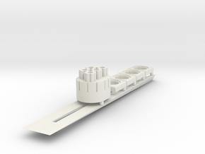 MFR 3 in White Natural Versatile Plastic