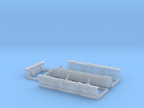 YT1300 MPC LANDING BAY DOORS SET in Smooth Fine Detail Plastic
