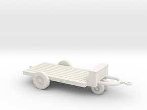 1/72 Scale M5 Bomb Trailer in White Natural Versatile Plastic