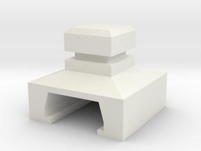 SaCl Mode v3 in White Natural Versatile Plastic