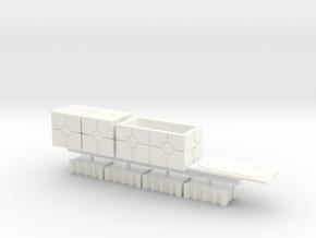 DIORAMA 1/48 CRATES IMPERIAL in White Processed Versatile Plastic