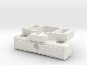 CW Truck Prime Master Matrix adapter in White Natural Versatile Plastic