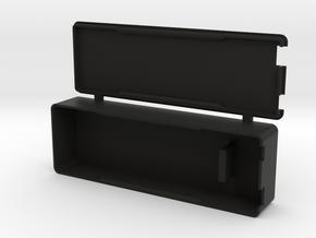 3S Lipo Hard Case & Adapter in Black Natural Versatile Plastic
