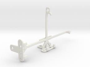 T-Mobile Revvlry+ tripod & stabilizer mount in White Natural Versatile Plastic