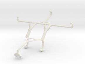 Controller mount for Xbox 360 & T-Mobile Revvlry+ in White Natural Versatile Plastic