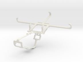 Controller mount for Xbox One & Coolpad Cool 3 Plu in White Natural Versatile Plastic