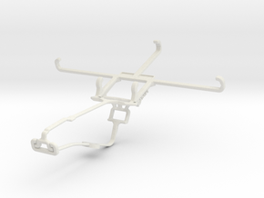Controller mount for Xbox One Chat & TECNO Phantom in White Natural Versatile Plastic