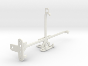 Xiaomi Mi A3 tripod & stabilizer mount in White Natural Versatile Plastic