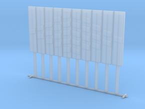 panneau beton distance pleine voies et contre voie in Smooth Fine Detail Plastic: 1:87 - HO