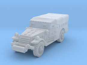 M3A1 Scoutcar early (closed) 1/120 in Smooth Fine Detail Plastic