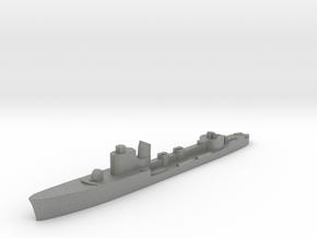 Italian Calliope torpedo boat 1:2400 WW2 in Gray PA12