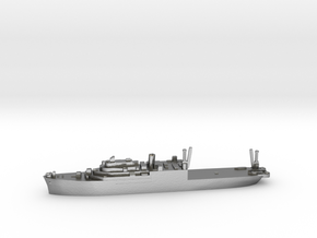 USS Pine Island seaplane tender 1:2400 WW2 in Natural Silver