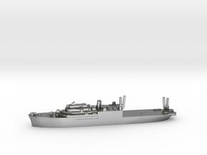USS Pine Island seaplane tender 1:3000 WW2 in Natural Silver