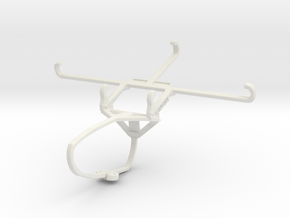 Controller mount for Switch Pro & TECNO Phantom 9  in White Natural Versatile Plastic