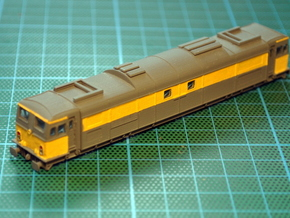 NS 1500 EM2 Bodyshell N (1/148 & 1/160) in Smooth Fine Detail Plastic: 1:160 - N