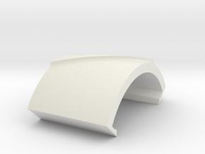 31.5 DEG RA GUMMER 2.5 INCH WIDE v2 fillet in White Natural Versatile Plastic