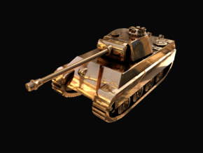 Tank - Panther G - size Small in 14k Gold Plated Brass