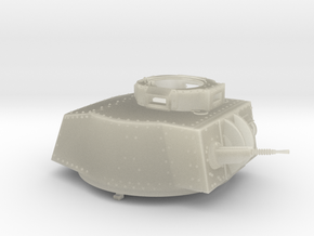 German Panzer 38t 1:18 Scale - Turret in Transparent Acrylic