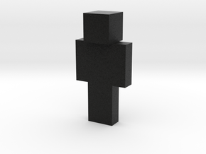 Blue Warrior | Minecraft toy in Natural Full Color Sandstone