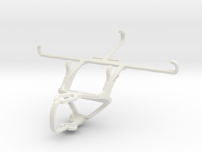 Controller mount for PS3 & T-Mobile Revvlry+ in White Natural Versatile Plastic