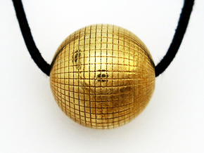 Disco Ball in Polished Brass