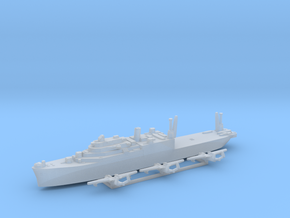 Currituck class seaplane tender pack 1:1800 WW2 in Smoothest Fine Detail Plastic