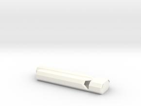 Train Whistle in White Processed Versatile Plastic