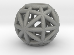 torus_pearl_type8_normal in Gray PA12: Small